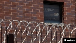 В'язниця у Чикаго, 9 квітня 2020 (REUTERS/Jim Vondruska)