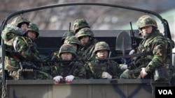 El ejército surcoreano realiza nuevas maniobras militares en todo el país.