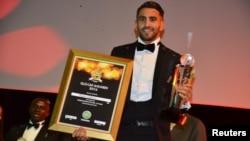 En images : Riyad Mahrez élu meilleur joueur africain de l'année 2016