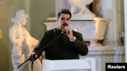 El gobierno de EE.UU. anunció el jueves, 25 de julio de 2019, nuevas sanciones contra el gobierno del presidente en disputa de Venezuela, Nicolás Maduro.