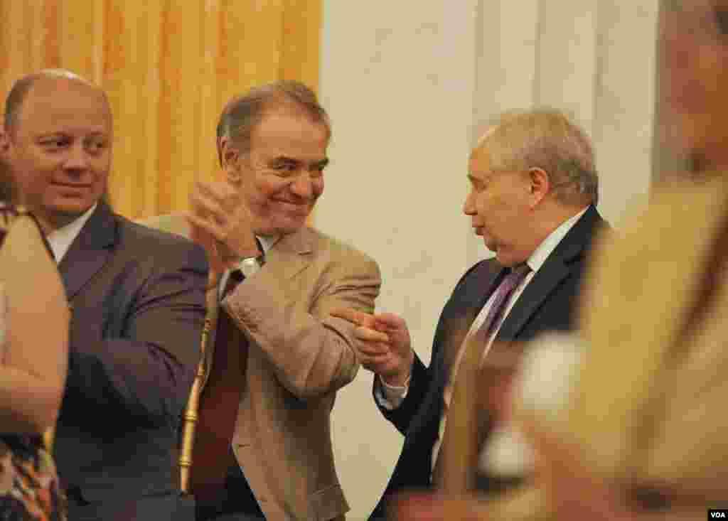 Валерий Гергиев и Сергей Кисляк