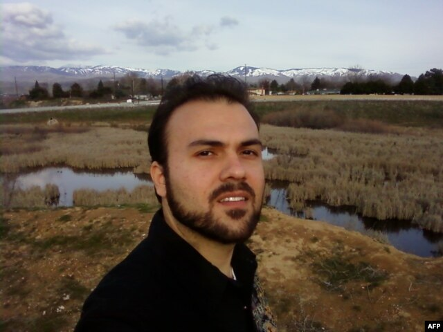 FILE - This file handout photo from the American Center for Law and Justice legal advocacy group taken on March 7, 2010 shows Iranian convert to Christianity Saeed Abedini posing for a picture at an unknown location.