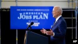 Президент США Джо Байден представив свій план з підтримки інфраструктури США у Піттсбурзі 31 березня 2021 року