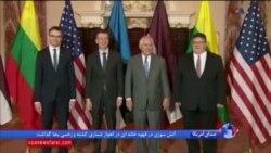پرزیدنت دونالد ترامپ میزبان روسای جمهوری سه کشور لیتوانی، لتونی و استونی