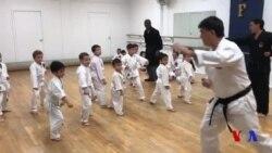Filadelfiyada o'zbekistonlik ochgan karate klubi