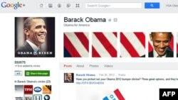 """Barak Obamanın """"Google+"""" səhifəsinə Çindən şərhlər daxil olur"""