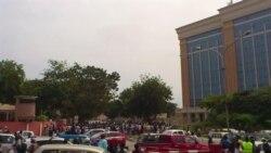 Desmobilizados das FAPLA manifestam-se em Luanda a 8 de Junho