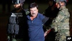 "Gembong narkoba, Joaquin ""El Chapo"" Guzman (foto: dok)."