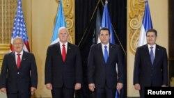 Mike Pence, Guatemala