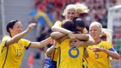 پیروزی سوئد در روز سوم جام جهانی زنان