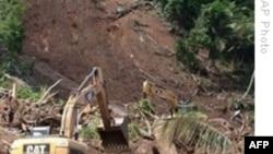 Tiếp tục tìm kiếm người sống sót trong vụ lở đất ở Brazil
