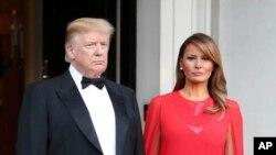 Melania Trump û Donald Trump