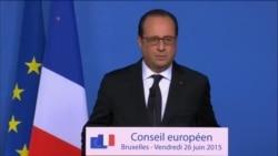François Hollande réagit à l'attaque près de Lyon