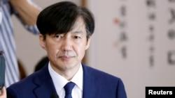 조국 한국 법무부 장관.