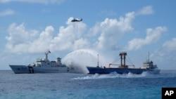台湾海巡队船只。(资料照片)