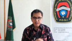 Ketua POGI Ari Kusuma Januarto. (Foto: VOA/Sasmito)