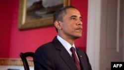 奥巴马总统为星期六每周例行讲话录音