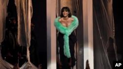 ریانا در مراسم اهدای جوایز گرمی
