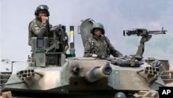 Военные учения Южной Кореи и США