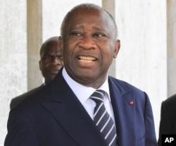 Le président ivoirien sortant Laurent Gbagbo