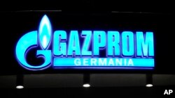 FILE - Russian gas export monopoly Gazprom faces charges of abusing its dominant position in central and eastern Europe, which could lead to a fine of up to $15 billion.