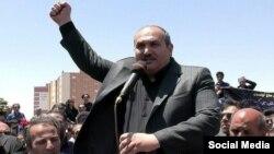 عباس لسانی، فعال آذربایجانی