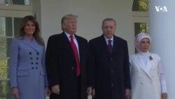 Трамп принял Эрдогана в Белом доме