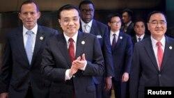 中國總理李克強今年4月10日在博鰲開幕式上。