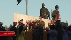 Tưởng niệm và an táng 81 chiến sĩ nhảy dù VNCH tại Westminster
