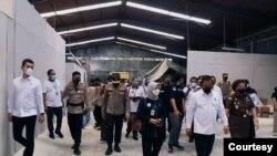 Polisi dan BPOM DIY menyebut pabrik obat keras ilegal ini merupakan yang terbesar yang pernah diungkap. (Foto: Humas Polres Bantul)