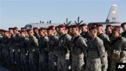 Paracaidistas de la 173 brigada aerotransportada de EE.UU. fueron movilizados este sábado a Lituania.