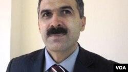 """""""Kür"""" Vətəndaş Cəmiyyəti Qərargahının koordinatoru Oqtay Gülalıyev"""