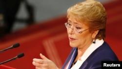 Tổng thống Chile Michelle Bachelet sẽ thay thế ông Zeid Ra'ad al-Hussein của Jordan, người sẽ từ nhiệm vào cuối tháng này sau một nhiệm kì bốn năm trên cương vị này tại Geneva.
