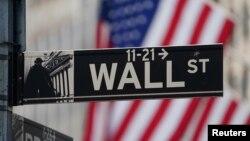 纽约证券交易所街景(路透社2020年3月9日)