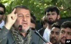 آرشیف: جنرال بسم الله محمدی وزیر داخلۀ افغانستان