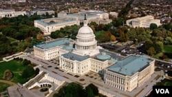 Capitol Hill, Gedung DPR Amerika (Foto: dok).