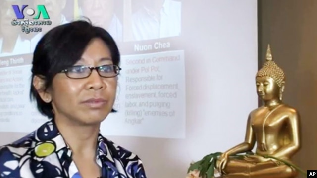 Nou Leakhena, a Cambodian-American sociologist and professor, spends much of her free time helping other Cambodians in the US.