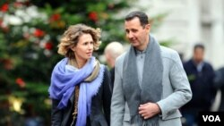 Bashar al-Assad and Asma Assad