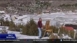 Alpet shqiptare në penelin e piktorit Skënder Strica