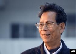 当选为乌坎村村委会主任时的林祖恋