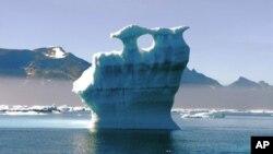 Para ilmuwan Eropa melaporkan cairnya es di