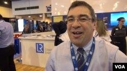 Lloyd's Register Energy's Richard Nott. (G. Flakus/VOA)
