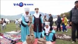 VOA60 DUNIYA: KYRGYSTAN Dunban Mutane Sun Taro A Bakin Kogin Issyk-Kul