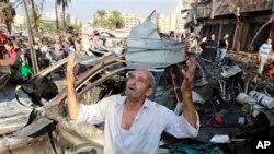 Wani dan kasar Syria yana addu'ar Allah ya kawo karshen wannan rikici