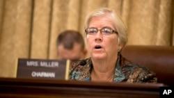 La representante de Michigan en la Cámara de Representantes, Candice Miller, propuso la medida que fortalecería el programa de exención de visas. Foto de archivo.