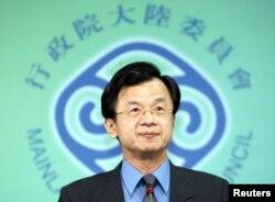 資料照:台灣陸委會主委邱太三