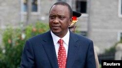 Presiden Kenya Uhuru Kenyatta diundang untuk menghadiri konferensi internasional di London (foto: dok).