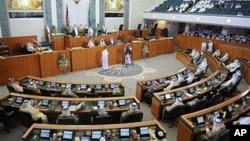 Suasana sidang parlemen Kuwait (Foto: dok). Pemerintah Kuwait kembali membubarkan parlemen, Minggu (7/10).