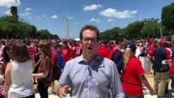 Celebran en Washington triunfo del equipo de hockey Capitals