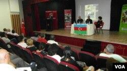 Professor Tağı Zehtabiyə həsr olunmuş seminar. İzmir, Türkiyə.
